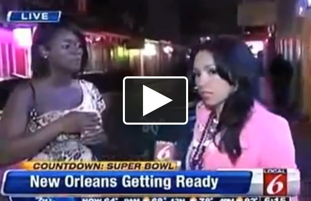 New Orleans reporter gets last laugh
